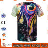 T-shirt 100% feitos sob encomenda do algodão 3D da impressão