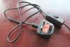 스위치 램프 홀더 UK 플러그를 가진 케이블을%s 전원
