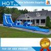 Diapositiva de agua inflable gigante del juego de sociedad de la familia para los cabritos