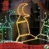 Lumière jaune de corde de motif de DEL pour la décoration de Ramadan avec du ce RoHS