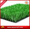 Hierba artificial de interior y al aire libre no llena para el campo de fútbol