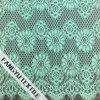 Tela de nylon do laço do algodão colorido bonito