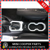 Cubierta blanca material del sostenedor de Cover&Cup del engranaje de la rotación de estilo del ABS del accesorio auto para el modelo renegado (2PCS/SET)