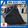 Case800 cubeta da rocha da máquina escavadora 4.0cbm
