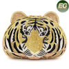 Artificial Rhinestone Animal Design Evening Bag Sacos de cristal Tiger Head Leb738
