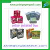 Rectángulo de regalo cosmético impreso aduana del papel del rectángulo del rectángulo de ventana del rectángulo