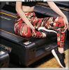Pantalones de encargo de la yoga de las medias del desgaste de la aptitud de la yoga de las mujeres del OEM