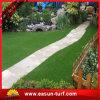 Hierba falsa artificial del PE de los PP del césped de la hierba del mini golf para el hogar y el jardín con pegamento de SBR