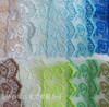 O laço novo do engranzamento do laço de Organza do bordado da largura do projeto 4cm para vestuários dirige matérias têxteis/cortinas