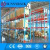 Cremalheira high-density do metal do armazenamento do armazém