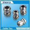 Connettore d'ottone della ghiandola di cavo elettrico del metallo con nichelato (PAGINA M)