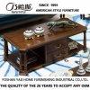Ultimo tavolino da salotto lungo di legno solido di disegno 2017 (AS841)