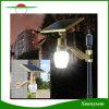 Tous dans un réverbère solaire d'or de lumière de lampe de jardin de forme de pêche d'Apple et de détecteur DEL de contrôle de temps