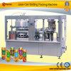 Máquina de enchimento enlatada automática da selagem da bebida líquida