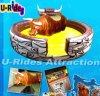 De hete het verkopen opblaasbare Rit van de Stier van Sporten boze Mechanische voor Verkoop