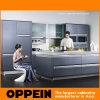Oppein Modern Line Solid Wood Kitchen Cabinets con la isla (OP08-L22)
