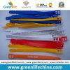 고품질 PVC 다채로운 테이프 유형 수화물 꼬리표 루프 W/Logo