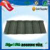 Tuile de toit enduite en métal de sable vert de GV de la CE