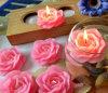 2015 neueste schöne Rosen-Kerze