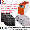 C.C. híbrida do inversor 10kw/10000W ao inversor solar da C.A. 10kw com o controlador 50A solar interno