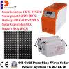 sistema híbrido da produção de eletricidade 1000With1kw solar