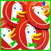 방수 레이블 PVC 접착성 라벨 스티커 광고