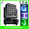 마술 Matrix Light 25 X 10W Moving Head Stage LED
