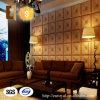 Azulejos de cuero decorativos modificados para requisitos particulares modernos de la pared de la PU 3D