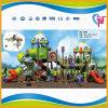 Campo da giuoco esterno attratto dei bambini di avventura per il parco di divertimenti (A-7401)