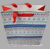 Les sacs polychromes bon marché de cadeau de papier d'imprimerie personnalisent le sac de papier d'achats