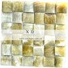 mozaïek van de Badkamers van de Jade 300*300 van het Onyx van 50*50mm het Groene (MO019)