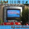 Pantalla impermeable publicitaria electrónica de P8 HD LED al aire libre