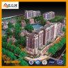 건축 설계 계획안의 부동산 모형 또는 단위 최빈값 또는 주거 건물 모형 제조 또는 축소 모형 건물