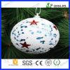 Esfera do EPS Polyfoam para o floco de neve do poliestireno da árvore de Natal