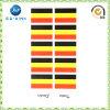 Kundenspezifischer Deutschland-Markierungsfahnen-Tätowierung-Aufkleber (JP-TS050)