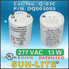 Cfls를 위한 전자 각자 Ballasted Lamp Adapters Used; Q-03c