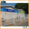 Barrera peatonal galvanizada del tráfico de la cerca del control de la barrera del hierro