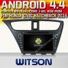 Carro DVD do sistema do Android 4.4 de Witson para o mapa 1.6GHz do vídeo DVR 3D da freqüência 1080P HD do mapa 1.6GHz do Hatchback de Honda Civic (W2-A7030) DVR 3D