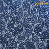 Fabbricato blu del merletto del Organza di disegno di Lastet