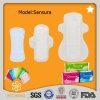 Serviette sanitaire de marque d'usine pour la femme