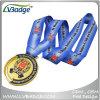 高品質は締縄が付いている金メダルを遊ばす