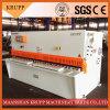 De Scherende Machine QC12y- 16X3200 van de Plaat van het Staal van de guillotine
