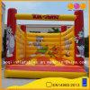 Bouncer vermelho e amarelo do brinquedo do miúdo de Suqare do Bouncer do castelo de Inflatables (AQ297-2)