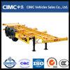 Cimc 40FT Tri-Axles Skeletal Trailer / Skeleton Trailer