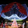 옥외 정원 훈장 LED 크리스마스 휴일 다채로운 끈 빛