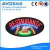 Hidlyの楕円形Afrika Restraurant LEDの印