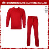 Tuta sportiva rotonda rossa popolare d'avanguardia della maglietta felpata del collo di modo (ELTTI-24)