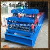 Rullo delle mattonelle di tetto della lamiera di acciaio di colore che forma macchina/mattonelle di punto/macchina del rullo precedente