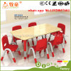幼稚園の学校家具のための緑の国6の人の調節可能な表