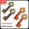 Дешевая изготовленный на заказ форма Keychain ключа металла